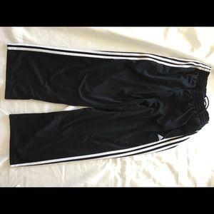 Adidas M wide leg pants
